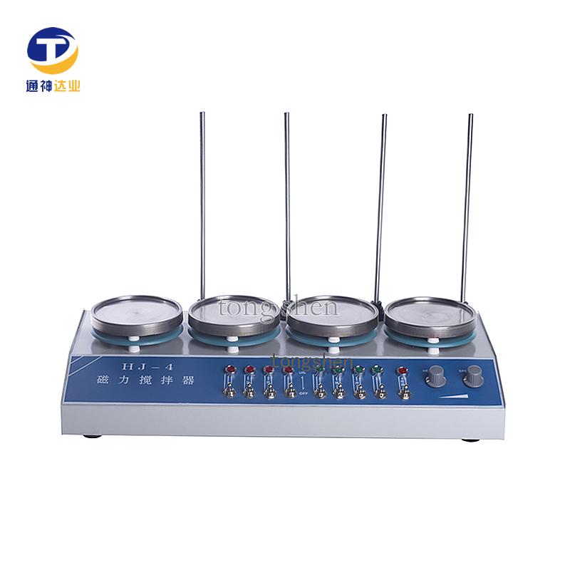 多头磁力加热搅拌器HJ-4/HJ-4A